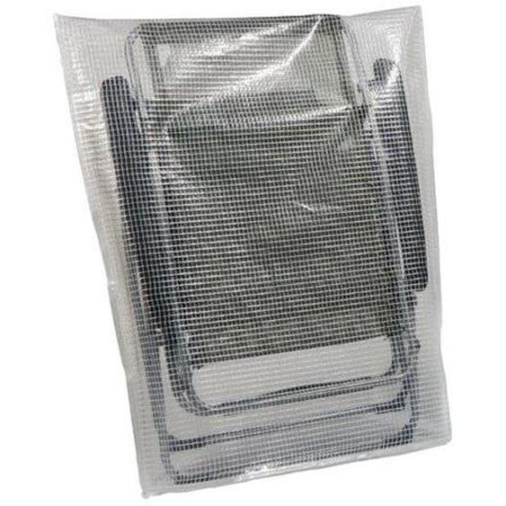 Heinemeyer Schutzhülle ca. 107x90cm für Lafuma Relaxsessel (XL-Modelle), Gitterfolie transparent Weiß
