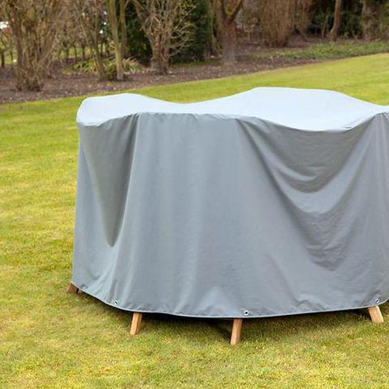 Heinemeyer Schutzhülle für Tischgruppen 240x180x90cm oval Teak-Safe Hellgrau