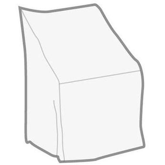 Heinemeyer Sesselhaube für Niederlehner-/Stapelsessel Gitter transparent Weiß