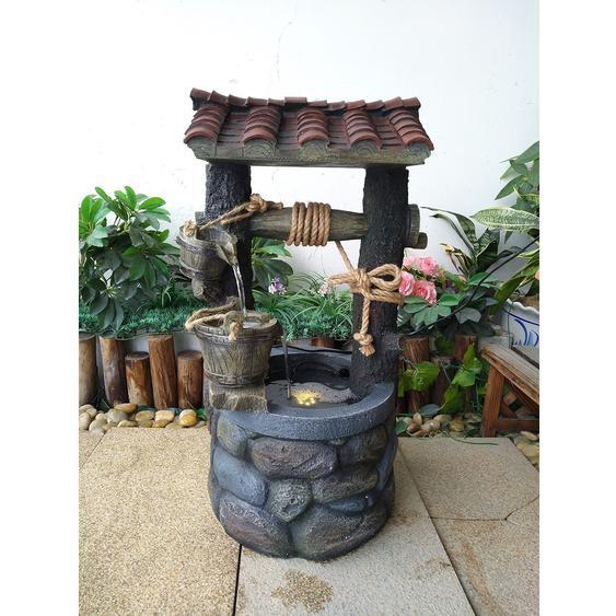 Heissner Brunnen Der Froschkönig für Garten-oder Terrasse