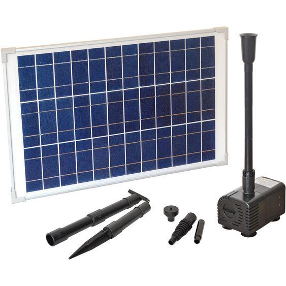 Heissner Solar-Teichpumpen-Set 1300 l/h 0,00036 m³/s