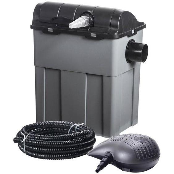 Heissner Teichfilter »FPU10100-Set«, mit UVC-Klärer, Förderleistung: 3.300 l/h / 40W