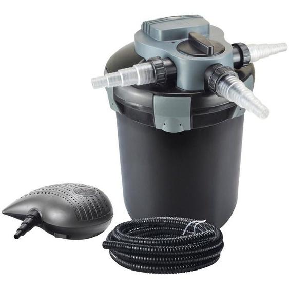 Heissner Teichfilter »FPU7200-Set«, mit UVC-Klärer, Förderleistung: 2.200 l/h