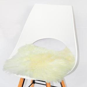 Heitmann Felle Stuhlkissen »Lamm, eckig«, Sitzauflage, Sitzfell, eckig, 44x44 cm, echtes Lammfell, waschbar