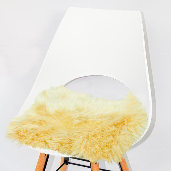 Heitmann Felle Stuhlkissen »Sitzauflage eckig«, echtes Lammfell