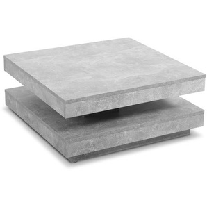 Hela Couchtisch ,Grau ,Holz