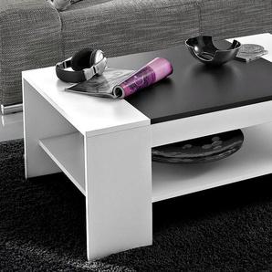 HELA Couchtisch, mit Einlageplatte B/H/T: 111 cm x 44 67 cm, Einlegeplatte weiß Couchtisch Couchtische Tische Möbel sofort lieferbar
