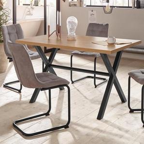 HELA Essgruppe »BONNY«, (Set, 5-tlg), bestehend aus einem Tisch und 4 Stühlen