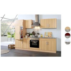 HELD Küchenzeile »Varel «, B 220 cm, mit Elektrogeräten, aus MDF, Selbstmontage