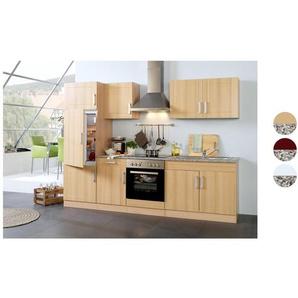 HELD Küchenzeile »Varel «, B 270 cm, mit Elektrogeräten, aus MDF, Selbstmontage
