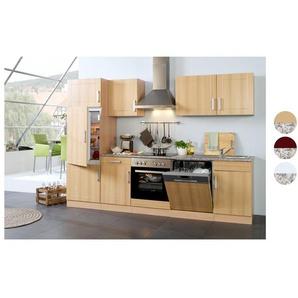 HELD Küchenzeile »Varel «, B 280 cm, mit Elektrogeräten, aus MDF, Selbstmontage