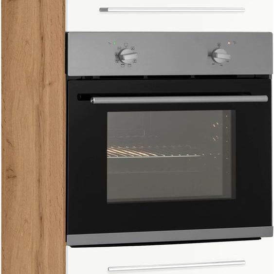 HELD MÖBEL Backofen/Kühlumbauschrank 60 x 200 (B H T) cm, 2-türig weiß Umbauschränke Küchenschränke Küchenmöbel Schränke