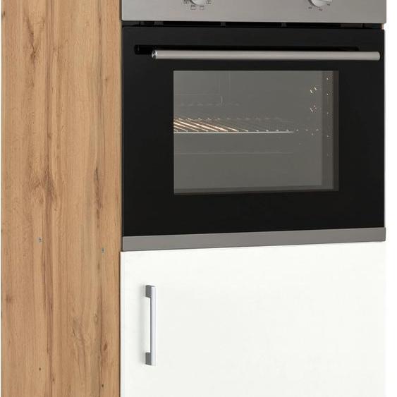 HELD MÖBEL Backofen/Kühlumbauschrank Colmar 60 x 165 (B H T) cm weiß Umbauschränke Küchenschränke Küchenmöbel Schränke