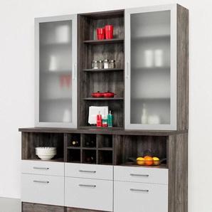 HELD MÖBEL Küchenbuffet »»Sevilla« in 3 Farben, Breite 150 cm«