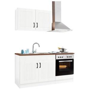HELD MÖBEL Küchenzeile »Athen«, mit E-Geräten, Breite 160 cm
