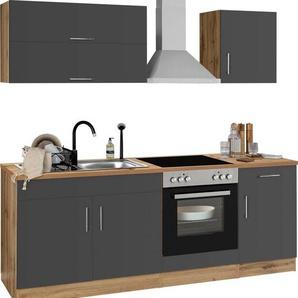 HELD MÖBEL Küchenzeile »Colmar«, mit E-Geräten, Breite 210 cm