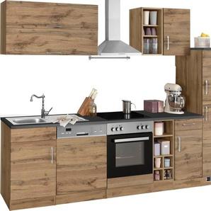 HELD MÖBEL Küchenzeile »Colmar«, mit E-Geräten, Breite 300 cm