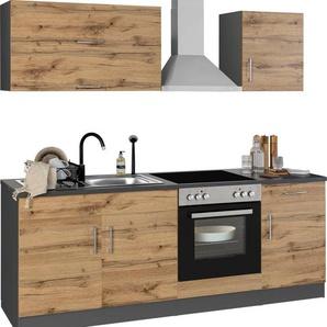 HELD MÖBEL Küchenzeile »Colmar«, ohne E-Geräte, Breite 210 cm