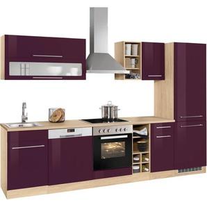 k chen in lila preisvergleich moebel 24. Black Bedroom Furniture Sets. Home Design Ideas