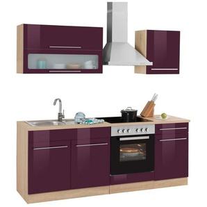 HELD MÖBEL Küchenzeile ohne E-Geräte »Eton«, Breite 210 cm