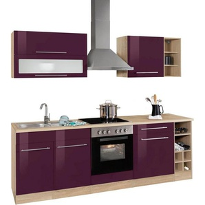 HELD MÖBEL Küchenzeile ohne E-Geräte »Eton«, Breite 240 cm