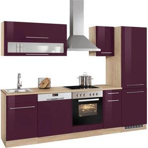 HELD MÖBEL Küchenzeile ohne E-Geräte »Eton«, Breite 270 cm