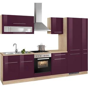HELD MÖBEL Küchenzeile ohne E-Geräte »Eton«, Breite 300 cm
