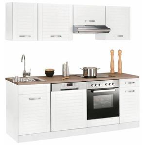 Küchenzeile »Falun«, ohne E-Geräte, Breite 210 cm