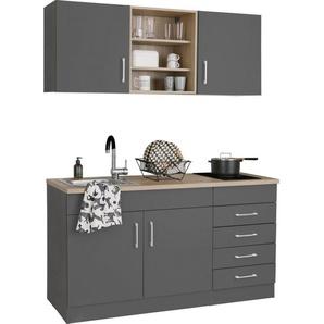 HELD MÖBEL Küchenzeile »Mali«, mit E-Geräten, Breite 150 cm