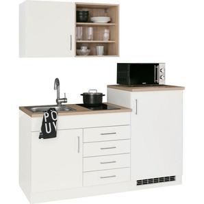 HELD MÖBEL Küchenzeile »Mali«, mit E-Geräten, Breite 160 cm
