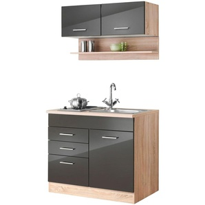 HELD MÖBEL Küchenzeile Monaco, Breite 100 cm