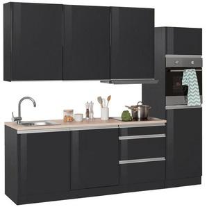 HELD MÖBEL Küchenzeile mit E-Geräten »Ohio«, Breite 240 cm