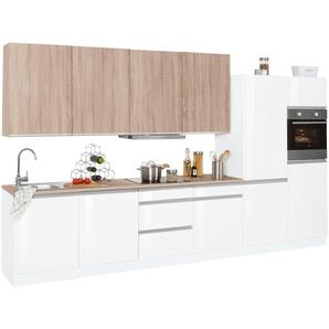 HELD MÖBEL Küchenzeile mit E-Geräten »Ohio«, Breite 360 cm