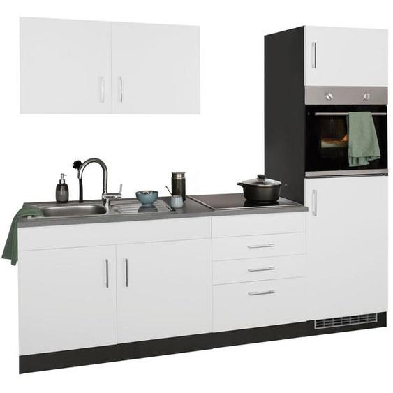 HELD MÖBEL Küchenzeile »Paris«, ohne E-Geräte, Breite 220 cm