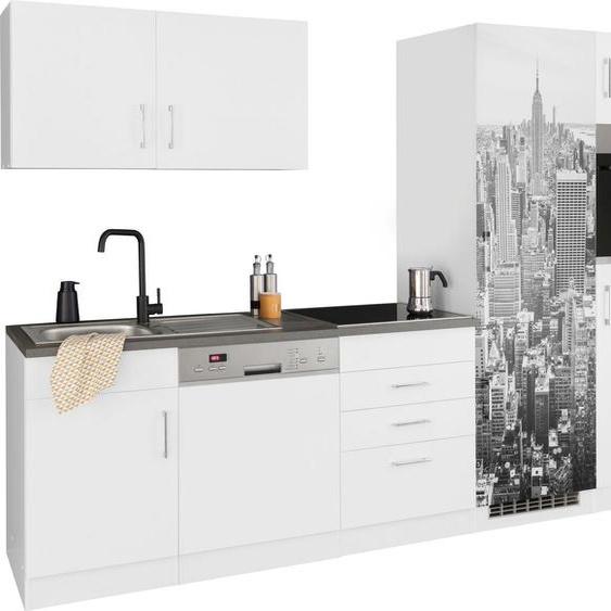 HELD MÖBEL Küchenzeile »Paris«, ohne E-Geräte, Breite 290 cm