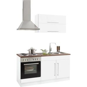 HELD MÖBEL Küchenzeile »Samos«, mit E-Geräten, Breite 160 cm