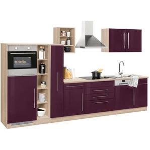 HELD MÖBEL Küchenzeile ohne E-Geräte »Samos«, Breite 350 cm