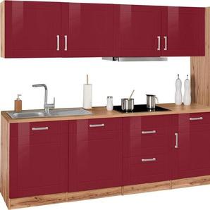 HELD MÖBEL Küchenzeile »Tinnum«, mit E-Geräten, Breite 360 cm
