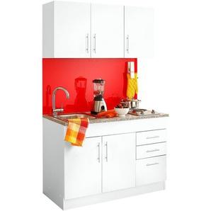HELD MÖBEL Küchenzeile »Toledo«, mit E-Geräten, Breite 120 cm