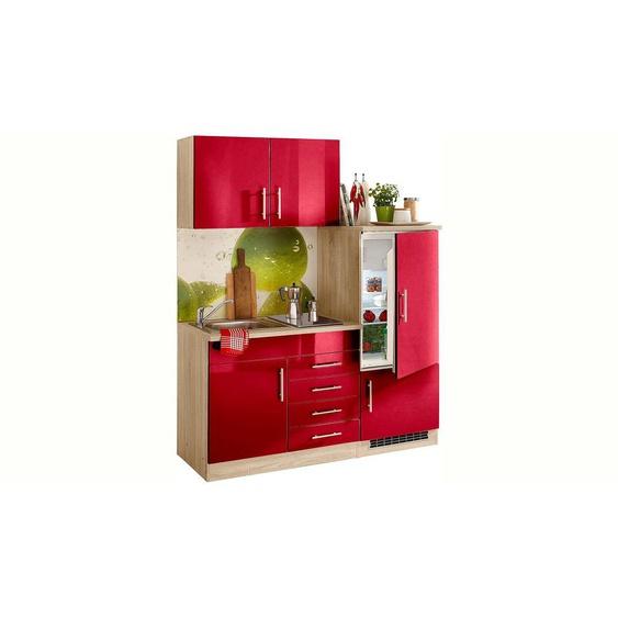 HELD MÖBEL Küchenzeile »Toledo«, mit E-Geräten, Breite 160 cm, Energieeffizienz: A+