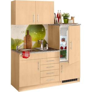 HELD MÖBEL Küchenzeile Toledo, mit E-Geräten, Breite 160 cm