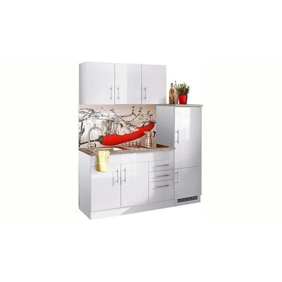HELD MÖBEL Küchenzeile »Toledo«, mit E-Geräten, Breite 180 cm, Energieeffizienz: A+