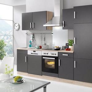 HELD MÖBEL Küchenzeile »Toronto«, mit E-Geräten, Breite 280 cm