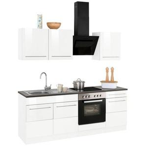 HELD MÖBEL Küchenzeile mit E-Geräten »Trient«, Breite 210 cm