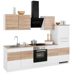 HELD MÖBEL Küchenzeile mit E-Geräten »Trient«, Breite 270 cm