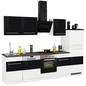 HELD MÖBEL Küchenzeile mit E-Geräten »Trient«, Breite 280 cm