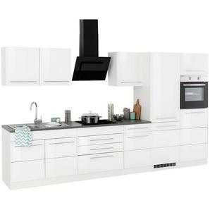 HELD MÖBEL Küchenzeile mit E-Geräten »Trient«, Breite 350 cm