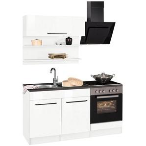 HELD MÖBEL Küchenzeile mit E-Geräten »Tulsa«, Breite 160 cm