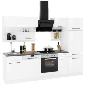 HELD MÖBEL Küchenzeile »Tulsa«, mit E-Geräten, Breite 270 cm