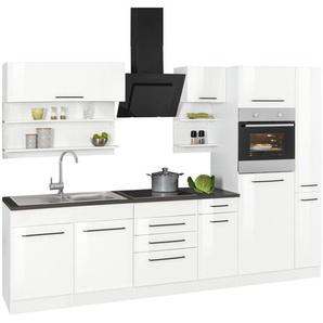 HELD MÖBEL Küchenzeile mit E-Geräten »Tulsa«, Breite 300 cm